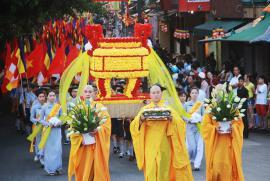TƯGH hướng dẫn tổ chức Đại lễ Phật đản PL.2562