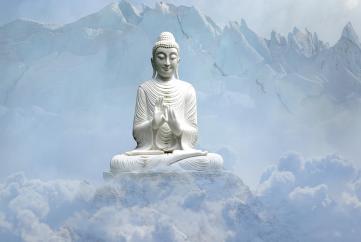 Đức Phật phá tất cả chấp để giúp chúng sinh chứng đạt vô ngã