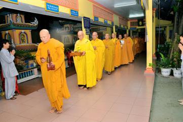 """Lễ mãn khóa Niệm Phật """"Bá nhật trì danh, cầu sanh Tịnh Độ"""" lần thứ 55 tại Nhất Nguyên Bửu Tự"""