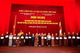 Phiên họp đầu tiên của HĐCM, HĐTS khóa VIII