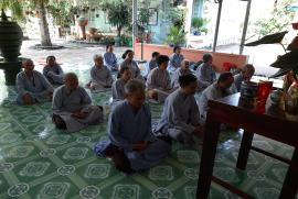 Chùa Bửu Châu tổng kết khóa tu niệm Phật cuối năm 2019