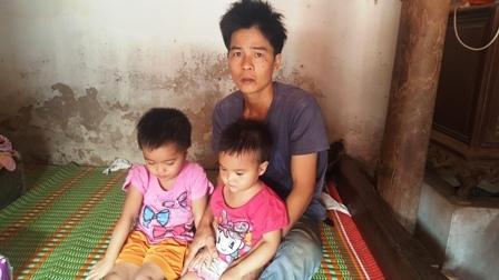 Ba bố con anh Ngọc đã xuất viện về nhà điều trị