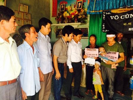 Tổng số tiền qua 2 tuần 4,5 tháng 9 mà các nhà hảo tâm hỗ trợ gia đình bé Thế Ngọc là 47.010.000 đồng.