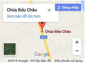 Bản đồ chùa bửu châu