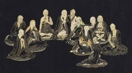 Các vị La Hán (Ảnh minh họa từ Viện bảo tàng quốc lập Cố Cung)
