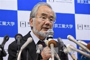 Giáo sư Yoshinori Ohsumi