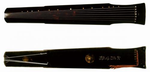 đàn cổ Hiệu Chung Cầm (Nguồn: Sưu tầm)
