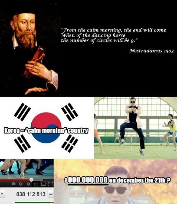 Vạch trần sự thật của lời tiên tri Tận thế Gangnam Style 3