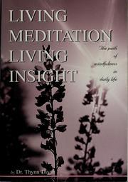 Living Meditation Living Insight
