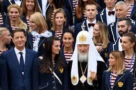 Đức Giáo Trưởng Chính Thống Nga Kirill và các lực sĩ Nga