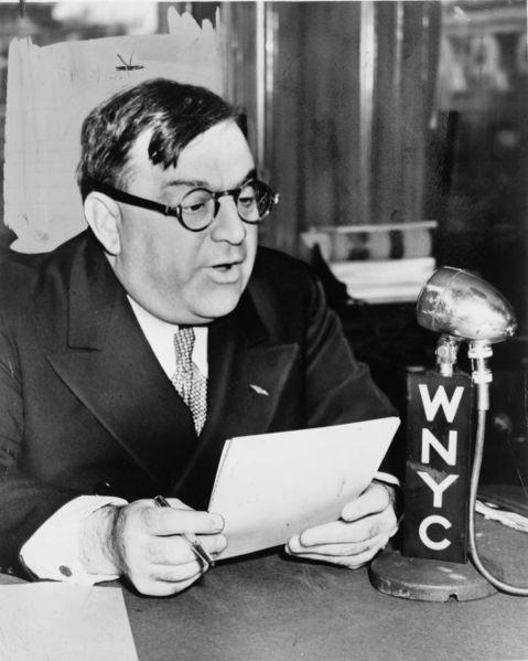 Thị trưởng thành phố New York - ông Fiorello LaGuardia (Ảnh: Wikipedia)