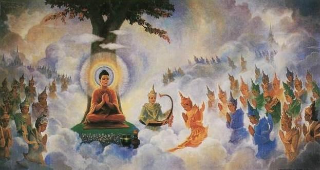 Kết quả hình ảnh cho Về thần thông, biến hóa trong đạo Phật