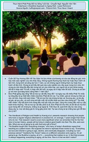 Thực Hành Phật Pháp Để Vui Sống Tuổi Già
