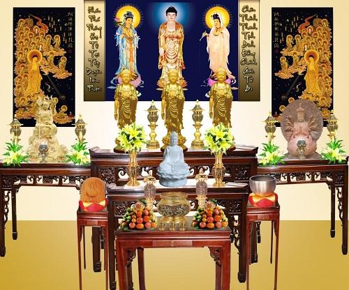 Nên Trang Trí Bàn Thờ Như Thế Nào? Phật Tử Có Nên Thờ Thần Tài, Đức Quán Thánh Không?