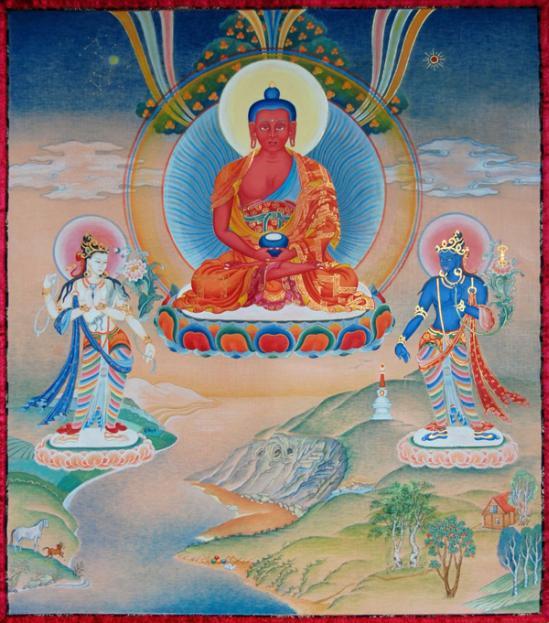 Kết quả hình ảnh cho Tử Thư Tây Tạng Đại Giải Thoát Thông Qua Sự Nghe Trong Bardo