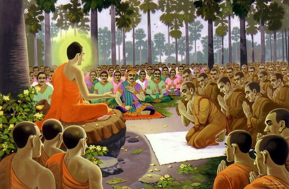 Kết quả hình ảnh cho Đức Phật giảng pháp