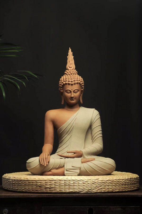 Phật Thái Ngồi Thiền - An Lạc Thiền - Tượng Phật, Tượng Xông Trầm