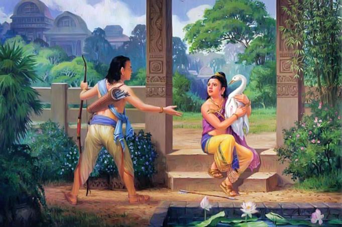 Đề Bà Đạt Đa luôn có tâm tranh đấu với Thái tử Tất Đạt Đa ngay từ lúc nhỏ (ảnh minh họa)