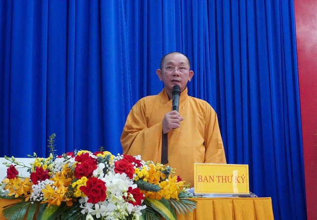 Phiên trù bị Đại hội Phật giáo huyện Củ Chi nhiệm kỳ X ảnh 6
