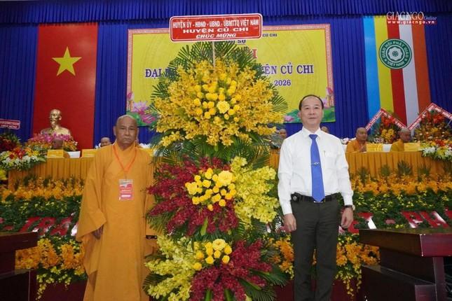 Chính thức Đại hội đại biểu Phật giáo huyện Củ Chi lần thứ X nhiệm kỳ 2021-2026 ảnh 17