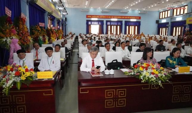Chính thức Đại hội đại biểu Phật giáo huyện Củ Chi lần thứ X nhiệm kỳ 2021-2026 ảnh 18