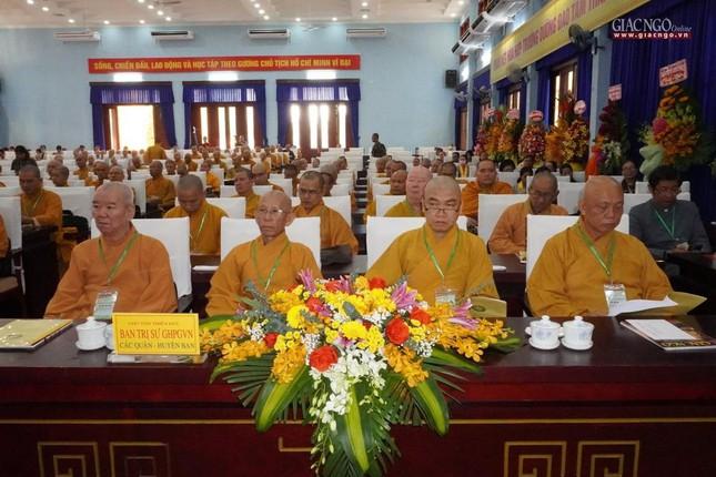 Chính thức Đại hội đại biểu Phật giáo huyện Củ Chi lần thứ X nhiệm kỳ 2021-2026 ảnh 19