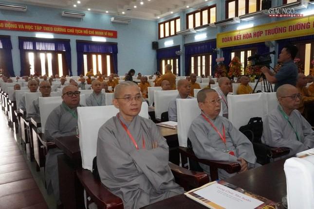 Chính thức Đại hội đại biểu Phật giáo huyện Củ Chi lần thứ X nhiệm kỳ 2021-2026 ảnh 21
