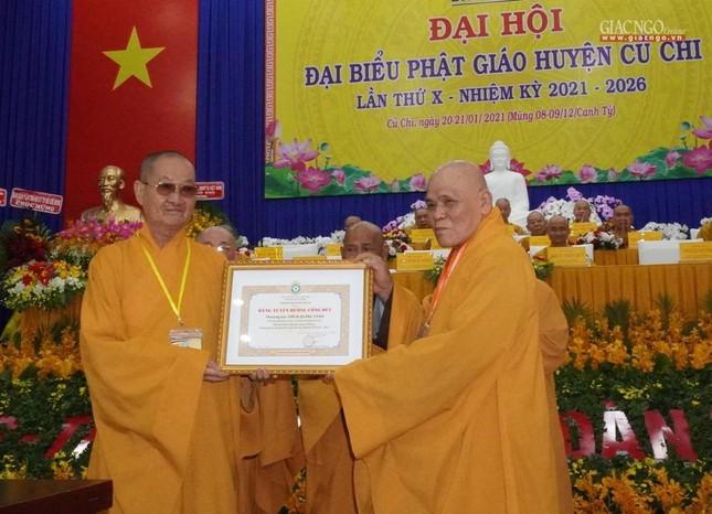 Chính thức Đại hội đại biểu Phật giáo huyện Củ Chi lần thứ X nhiệm kỳ 2021-2026 ảnh 4