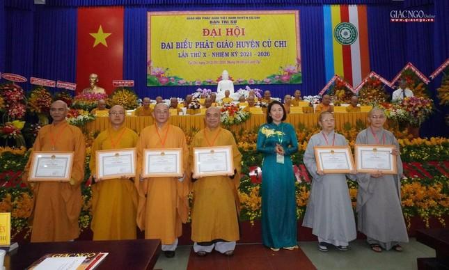 Chính thức Đại hội đại biểu Phật giáo huyện Củ Chi lần thứ X nhiệm kỳ 2021-2026 ảnh 24