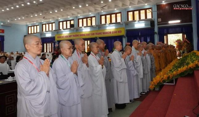 Chính thức Đại hội đại biểu Phật giáo huyện Củ Chi lần thứ X nhiệm kỳ 2021-2026 ảnh 25