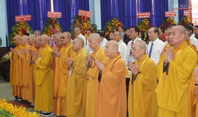 Chính thức Đại hội đại biểu Phật giáo huyện Củ Chi lần thứ X nhiệm kỳ 2021-2026 ảnh 1