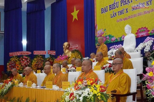 Chính thức Đại hội đại biểu Phật giáo huyện Củ Chi lần thứ X nhiệm kỳ 2021-2026 ảnh 26