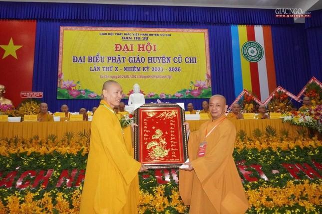 Chính thức Đại hội đại biểu Phật giáo huyện Củ Chi lần thứ X nhiệm kỳ 2021-2026 ảnh 28