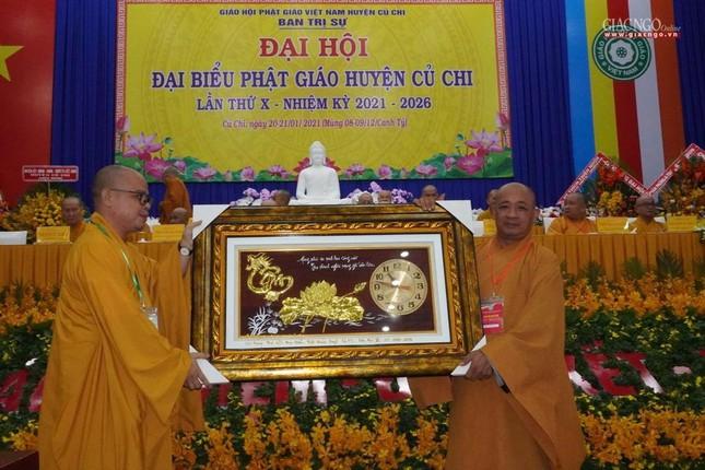 Chính thức Đại hội đại biểu Phật giáo huyện Củ Chi lần thứ X nhiệm kỳ 2021-2026 ảnh 29