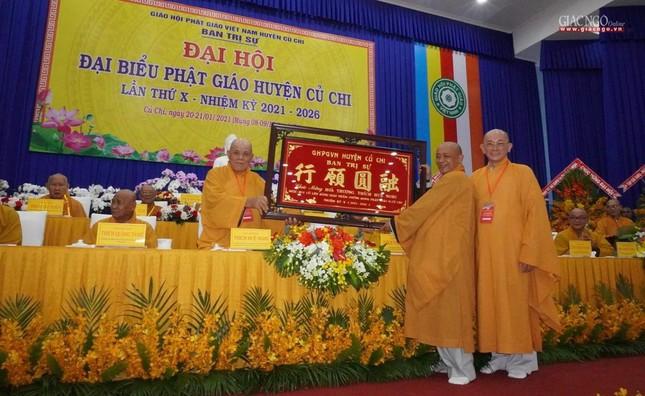 Chính thức Đại hội đại biểu Phật giáo huyện Củ Chi lần thứ X nhiệm kỳ 2021-2026 ảnh 30