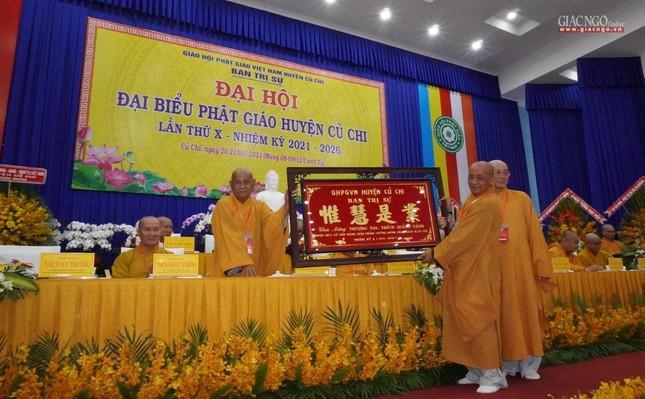 Chính thức Đại hội đại biểu Phật giáo huyện Củ Chi lần thứ X nhiệm kỳ 2021-2026 ảnh 31