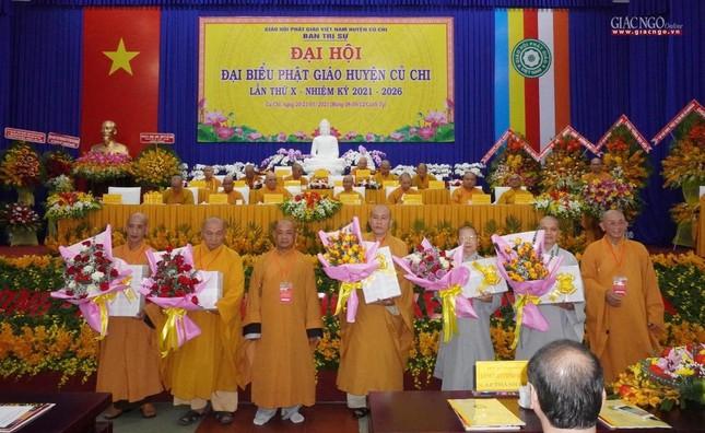 Chính thức Đại hội đại biểu Phật giáo huyện Củ Chi lần thứ X nhiệm kỳ 2021-2026 ảnh 32