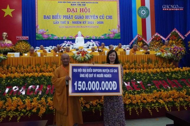 Chính thức Đại hội đại biểu Phật giáo huyện Củ Chi lần thứ X nhiệm kỳ 2021-2026 ảnh 33