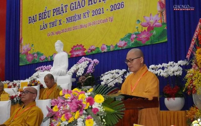 Chính thức Đại hội đại biểu Phật giáo huyện Củ Chi lần thứ X nhiệm kỳ 2021-2026 ảnh 34