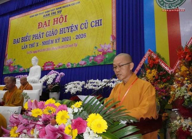 Chính thức Đại hội đại biểu Phật giáo huyện Củ Chi lần thứ X nhiệm kỳ 2021-2026 ảnh 10
