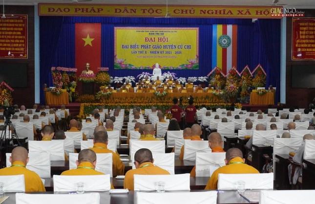 Chính thức Đại hội đại biểu Phật giáo huyện Củ Chi lần thứ X nhiệm kỳ 2021-2026 ảnh 11
