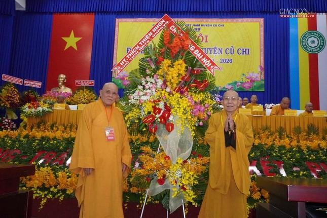 Chính thức Đại hội đại biểu Phật giáo huyện Củ Chi lần thứ X nhiệm kỳ 2021-2026 ảnh 12