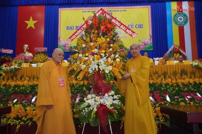 Chính thức Đại hội đại biểu Phật giáo huyện Củ Chi lần thứ X nhiệm kỳ 2021-2026 ảnh 13