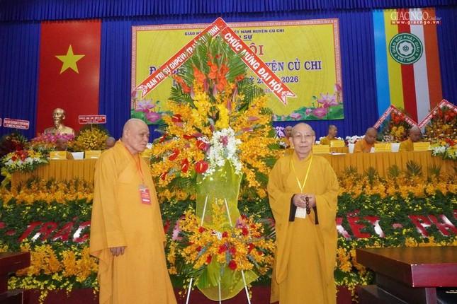 Chính thức Đại hội đại biểu Phật giáo huyện Củ Chi lần thứ X nhiệm kỳ 2021-2026 ảnh 14