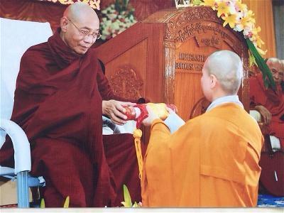Tiến Sĩ Phật Học Việt Nam Đầu Tiên tại Miến Điện 1