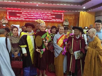Tiến Sĩ Phật Học Việt Nam Đầu Tiên tại Miến Điện 5