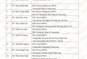 Danh sách Ban Thường trực HĐTS GHPGVN khóa VIII - Ban Biên Tập