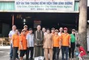 Chùa Bửu Châu tặng 200 phần quà cho các bệnh nhi tại BV đa khoa Bình Dương - Đặng Hải