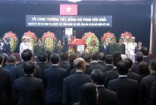 Lễ truy điệu, an táng nguyên Thủ tướng Phan Văn Khải - H.Đ