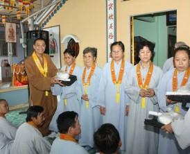 Tổng kết khóa tu niệm Phật 3 ngày an lạc năm Ất Mùi - 2016